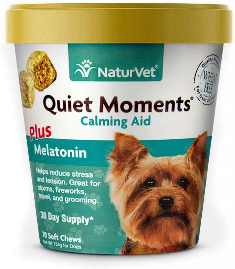 NaturVet-Quiet-Moments-Calming-Aid Dog-Soft-Chews