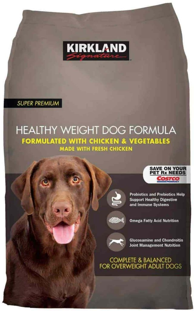 Kirkland Signature Healthy weight Chicken dog Food