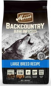Merrick Backcountry Raw Infused Large Breed