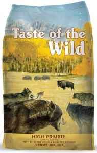 Taste of the Wild with Roasted Bision and Venison