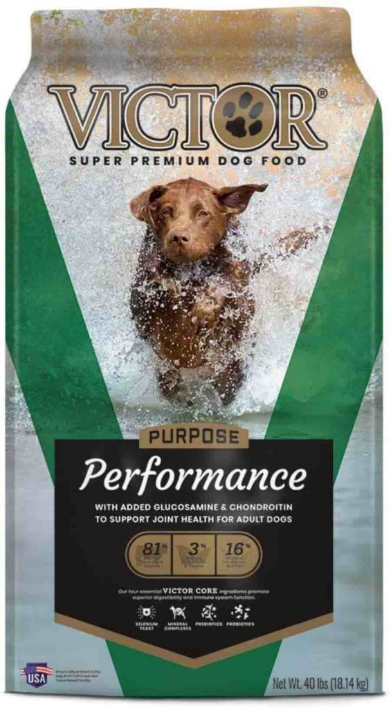 Victor Purpose Performance Dog Food