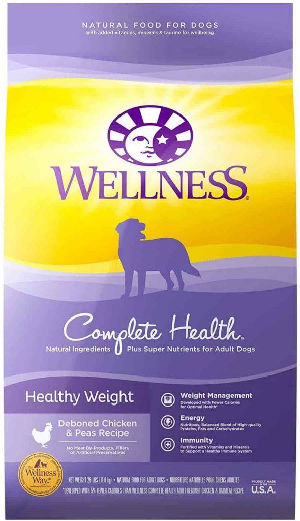 Wellness Complete Health Chicken Dog Food