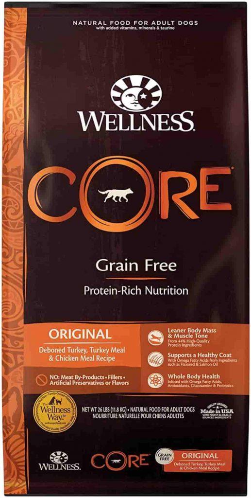 Wellness Core dog food for arthritis