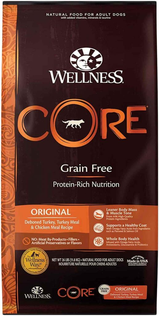 Wellness Core Natural dog food with Turkey and Chicken