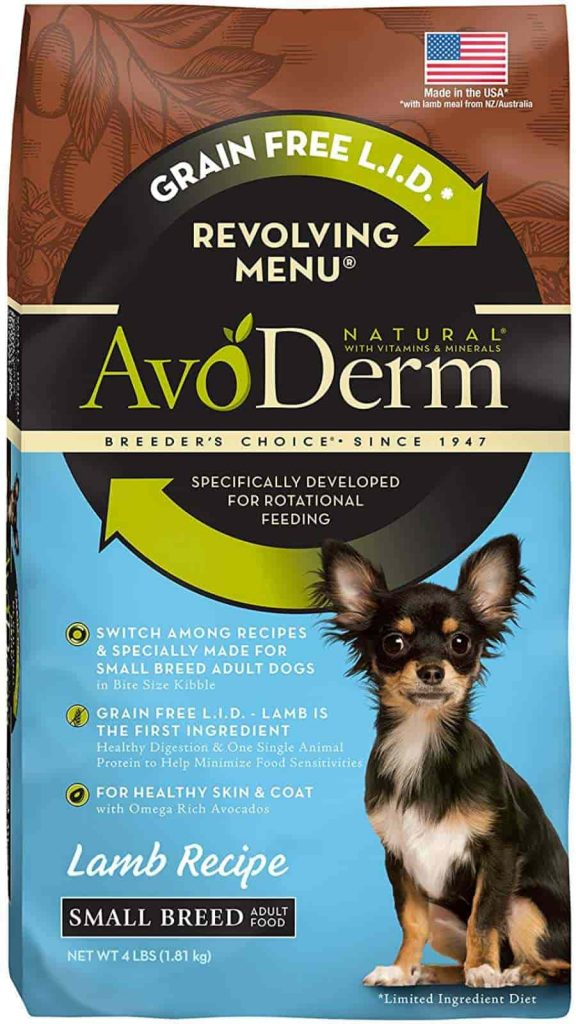 Avoderm Natural Dog food for Small breeds