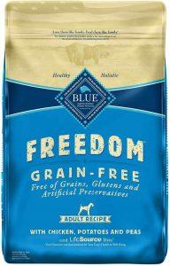 Blue Buffalo Adult dog food Grain Free