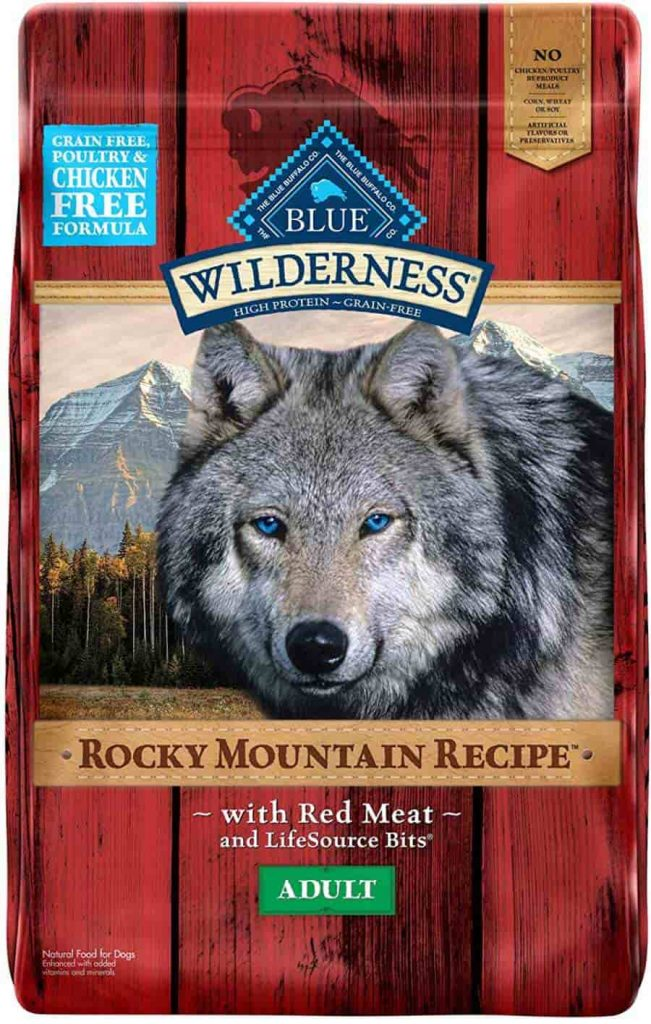 Blue Buffalo Wilderness with Red meat