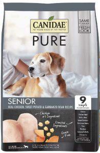 Canidae grain free Senior dog food