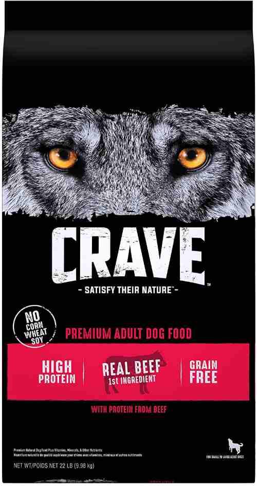 Crave High Calorie Dog Food