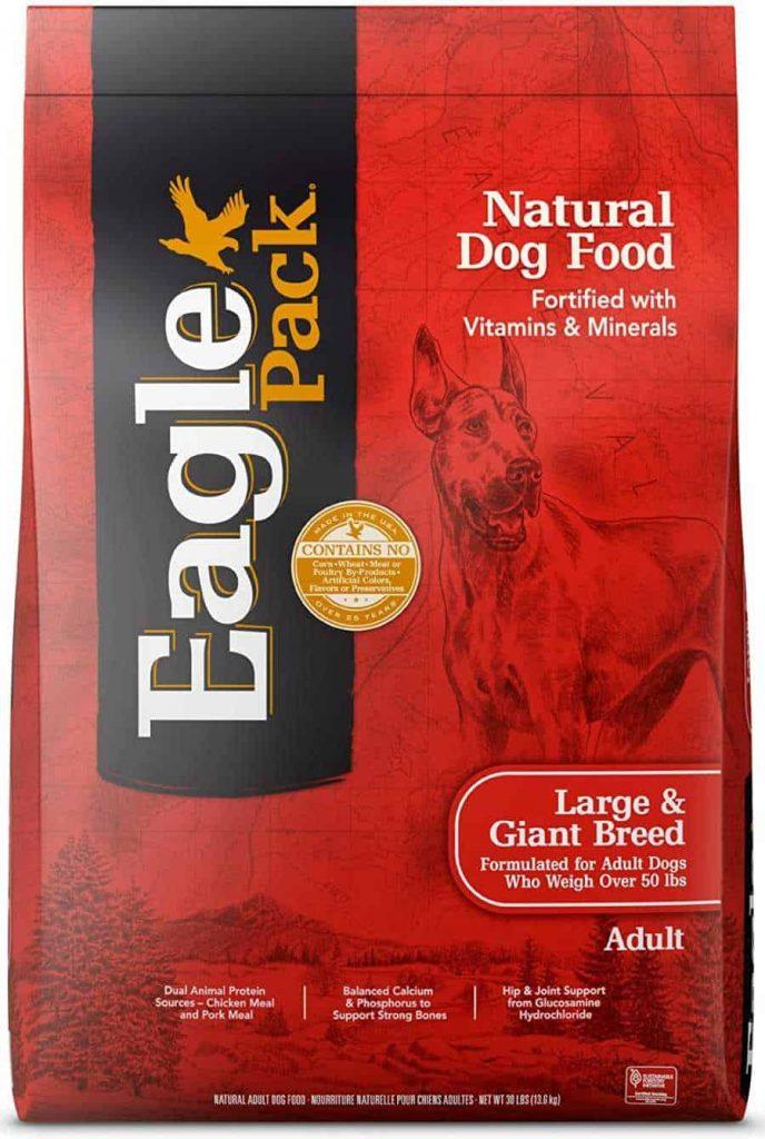 Eagle Pack Natural Dry Dog Food for Large Breed