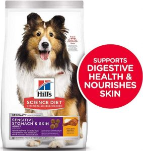 Hill's Science food for dog with allergies