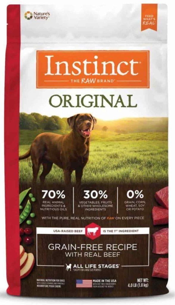 Instinct Original dry dog food with Beef
