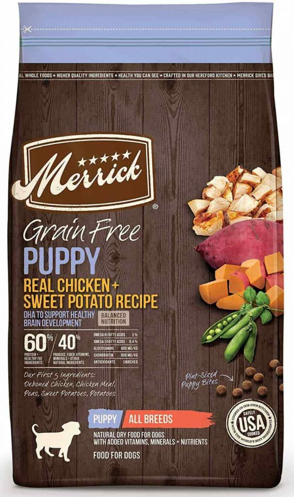 Merrick Puppy food, Grain Free