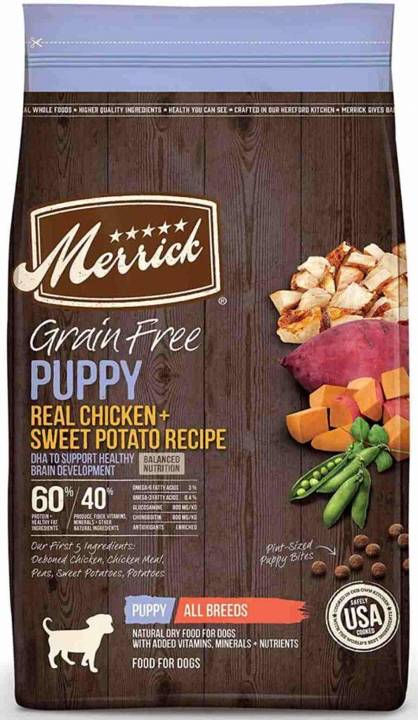 Merrick Grain Free Chicken dog food