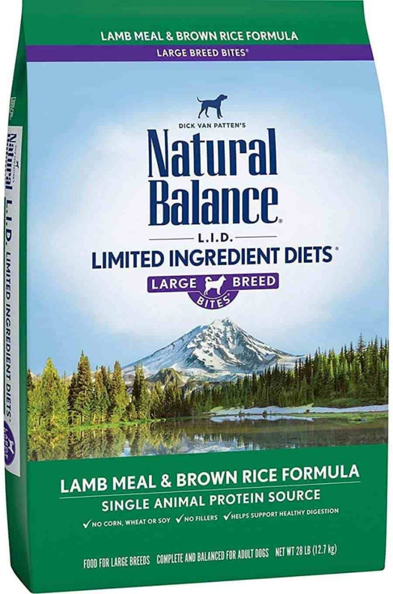 Natural Balance Limited Ingredient for dog with allergies