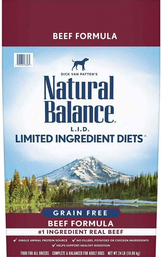 Natural Balance Limited Ingredient dog for for sensitive stomachs