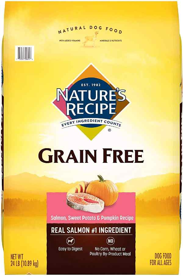 Natures Recipe dog food for allergies