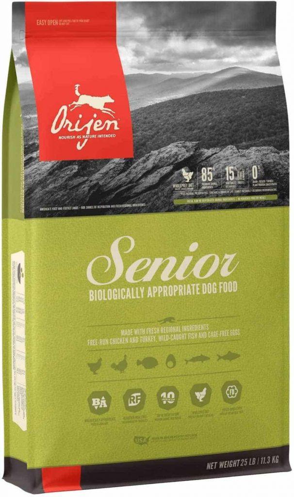 Orijen Grain Free, Senior Dog Food