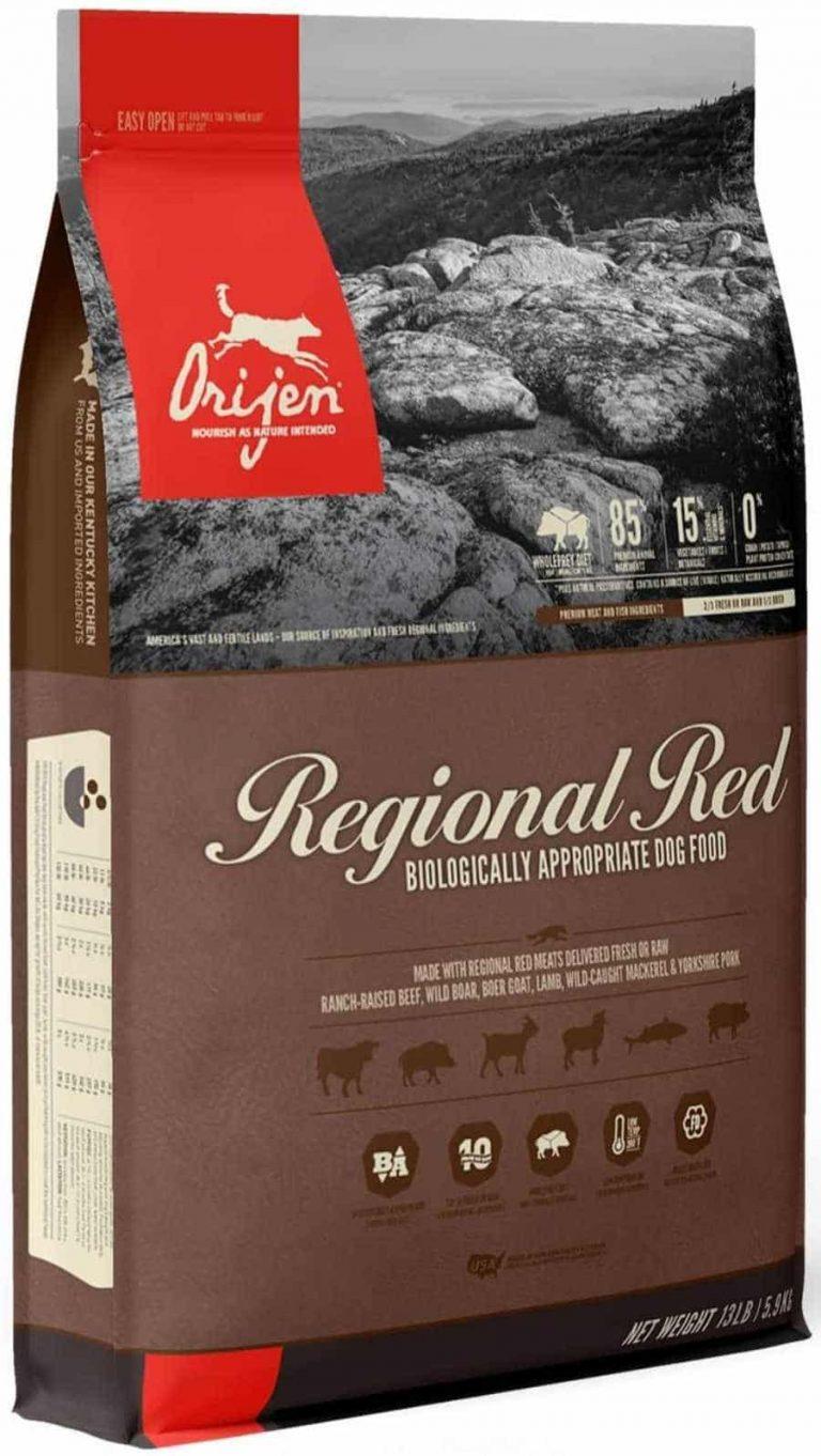 Orijen Regional Red Chicken Free dog food