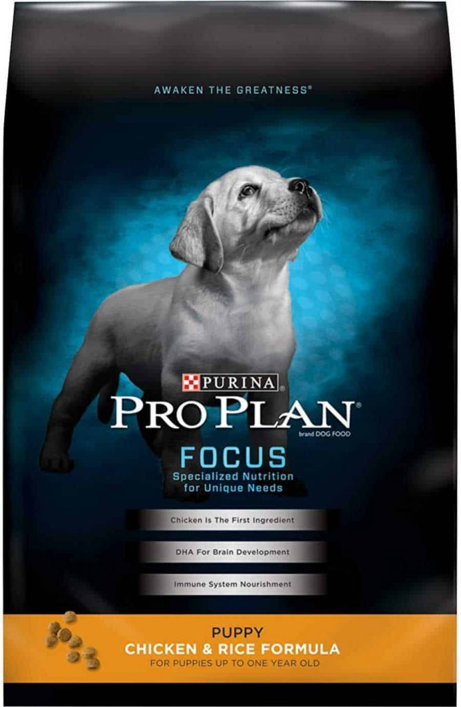 Purina Pro Plan Puppy Dog Food with Grains