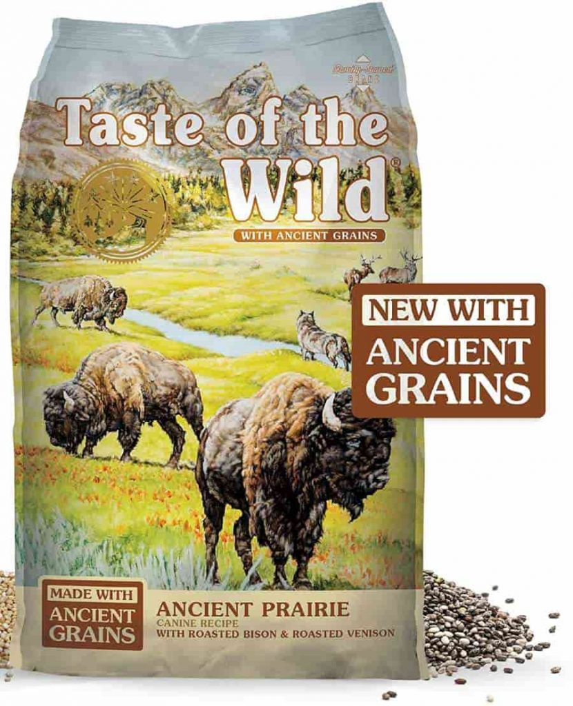 Taste of the Wild with Grains dry dog food