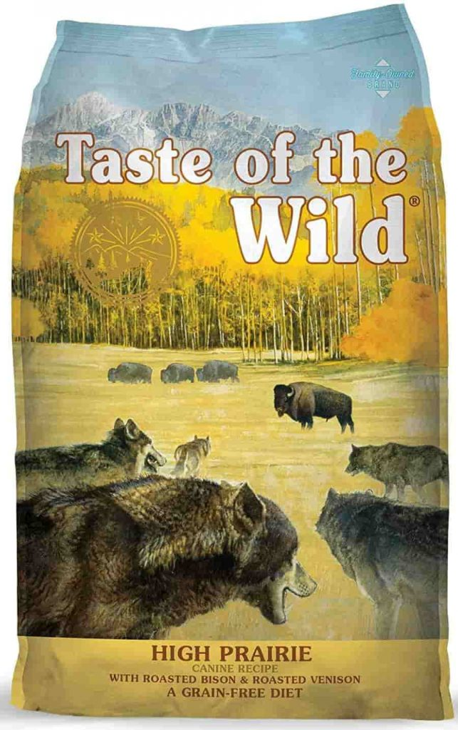 Taste of the Wild bison high calorie Dog Food