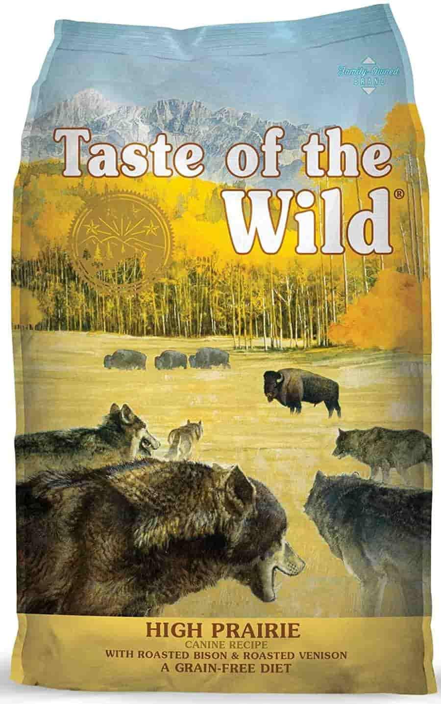 Taste of the Wild bison high calorie Dog Food