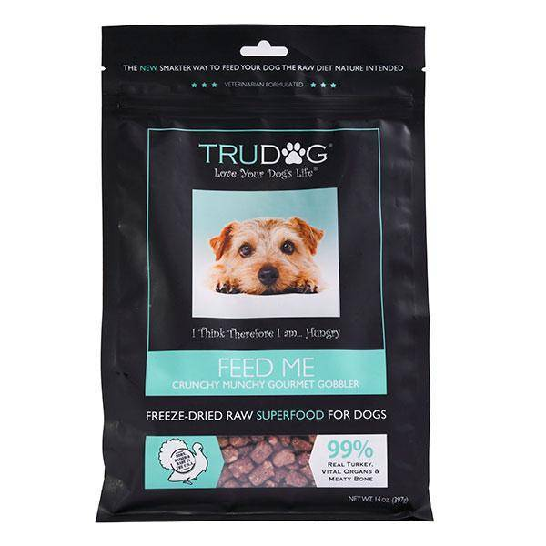 Raw Dog Food For Allergies - TruDog Feed Me Turkey