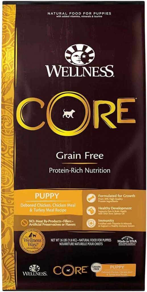 Wellness Core Natural dog food for puppy