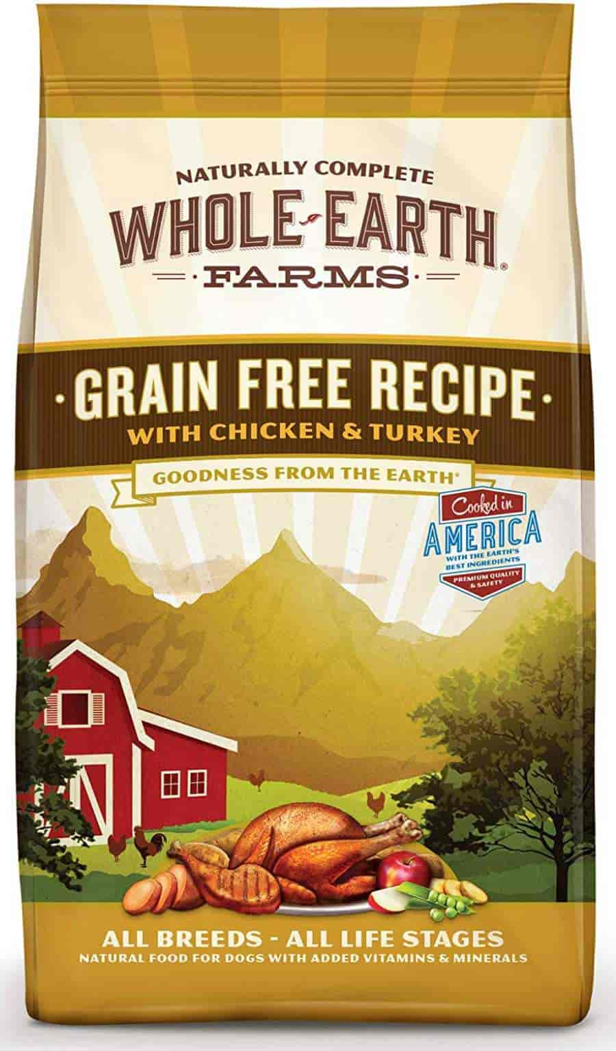 Whole Earth Farm Grain Free dog food