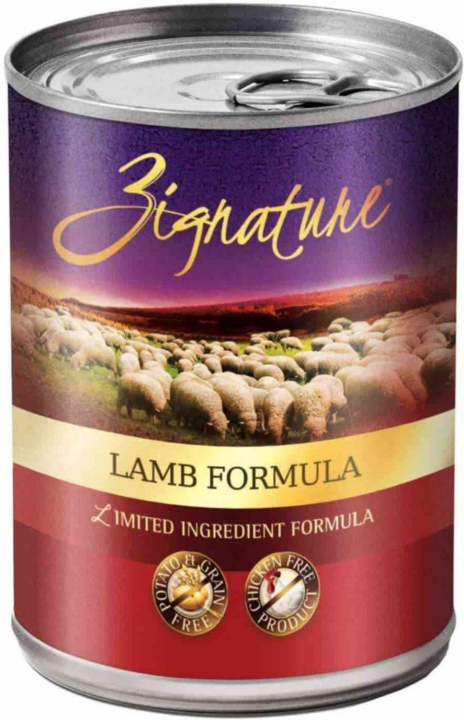 Zignature Lamb Wet Dog Food