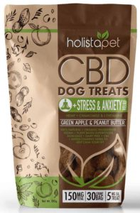 Holistapet cod dog treat for stress