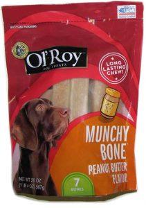 Ol Roy peanut butter dog treat