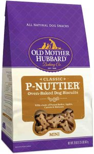 Old Mother Hubbard Peanut Butter Dog Treat