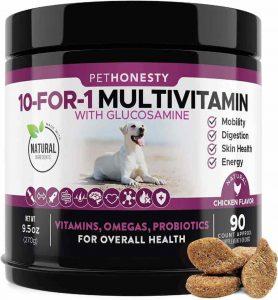PetHonesty 10 in 1 multivitamin