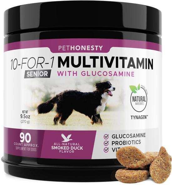 Senior Dog Multivitamin Chews by PetHonesty