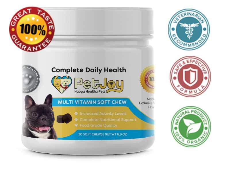 Dog Multivitamin Soft Chew Supplements