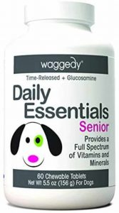 Waggedy Senior Dog Supplements