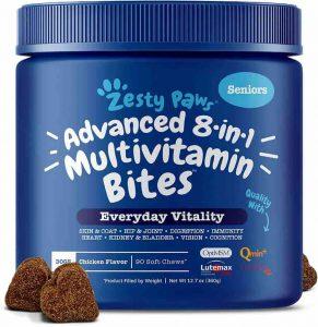 Zesty Paws Senior Dog Multivitamins