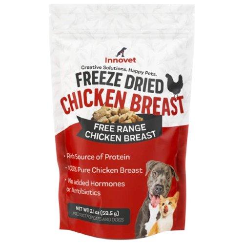 FREE RANGE CHICKEN BREAST FREEZE DRIED DOG TREATS