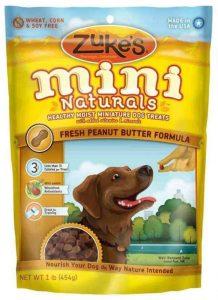 Zukes peanut butter dog treat