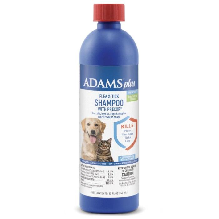 Adams Plus flea shampoo for dogs