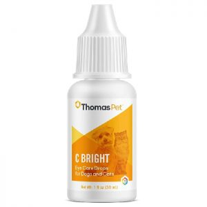 Thomas Pet C Bright Lubricating Eye Drops for Dogs