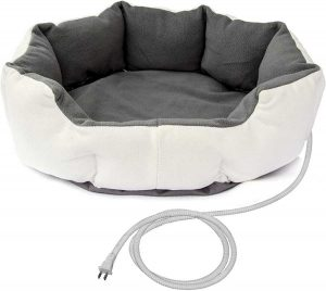 Aleko Electric Thermo-Pad Heated Dog Bed