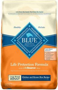 Dog Food with Glucosamin Chondroitin - Blue Buffalo Life Protection For Large Breed Adult
