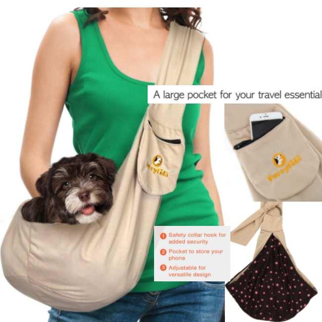 FurryFido Adjustable Dog Carrier Sling