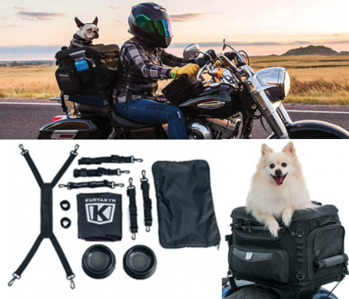 Kuryakyn Dog Carrier Motorcycle Bag