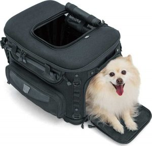 Kuryakyn motorcycle dog carrier