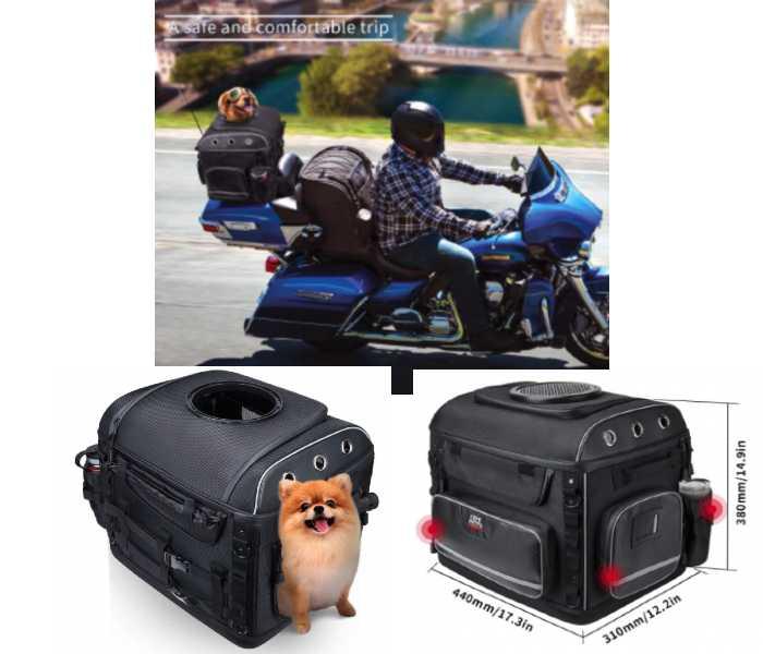Motorcycle Dog Carrier Bag