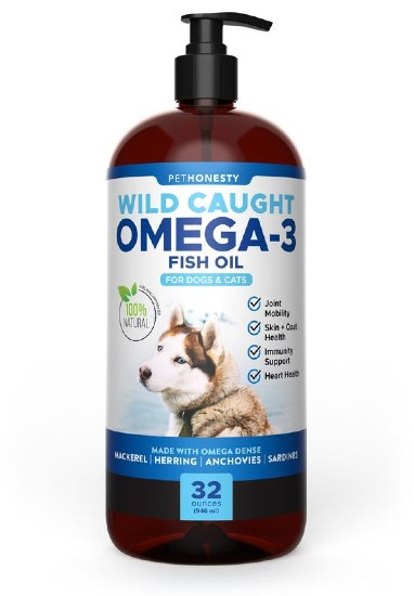 Omega-3 Fish Oil for dogs by PetHonesty